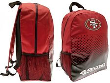 NFL SAN FRANCISCO 49ERS SPORTS RUCKSACK LUNCH SCHOOL SWIM GYM KIT BACKPACK  SF