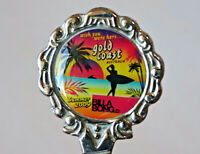 Vintage Souvenir Teaspoon GOLD COAST, AUSTRALIA Summer 2009 Billabong Surfing