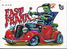 Topps 75th Anniversary Base Card 78 Weird Wheels