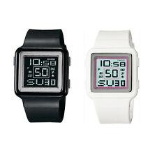 Casio Ladies Digital Watch Poptone World Time 2 colours LDF20 UK SELLER
