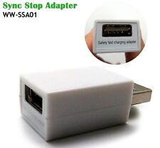 Syncstop Data Block USB Adapter Hi speed charging Computer Laptop Phone Tablet