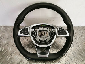 MERCEDES C CLASS W205 MULTIFUNCTION STEERING WHEEL PADDLE SHIFT A00046038039E38