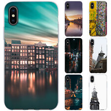 Dessana Amsterdam TPU Silicone Protective Cover Phone Case Cover For Apple