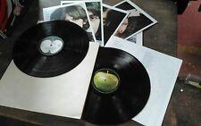 The Beatles White Album UK side loading g/f +Poster/4 Pics 1/2/1/2 Near Mint/Ex!