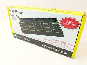 Digital Loggers Web Power Switch Pro Model Web-Controlled AC Power Switch: