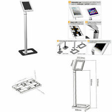 """Anti Theft Tablet Floor Stand iPad 2 3 4 Air 1 2 Pro 9.7 Tablet Mount 8.9""""-10.1"""""""