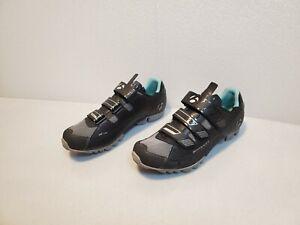 Bontrager Women's Sz 9.5 EUR 41 EVO MTB WSD Mountain Bike Shoes Black