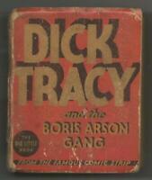 Dick Tracy + Boris Arson Gang ORIGINAL Vintage 1935 Whitman Big Little Book