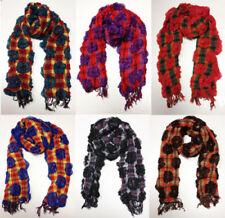 Tassels Shawls/Wraps Floral Scarves & Shawls for Women