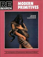 MODERN PRIMITIVES Bible of Body Modification V. Vale