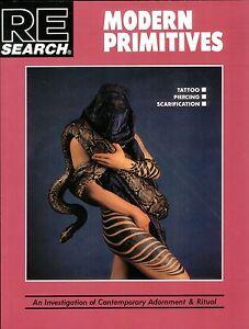 MODERN PRIMITIVES Bible of Body Modification V. Vale