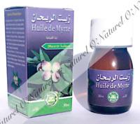 Huile de Myrte (Macérât Huileux) 100% Naturelle 30ml Myrtle Oil, Aceite de Mirto