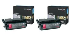 2 New Genuine Factory Sealed Lexmark 12A6735 Laser Cartridge T520 T522
