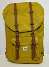 HERSCHEL SUPPLY LITTLE AMERICA 25L (GOLD/BROWN) CANVAS BACKPACK BRAND NEW w/TAG