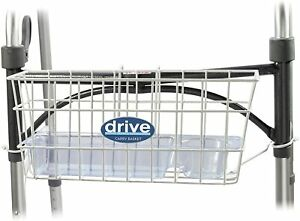 Drive Universal Walker Basket - White