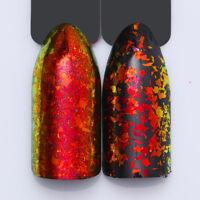 BORN PRETTY Chameleon Nail Glitter Sequins Powder Red Flakes Irregular Paillette