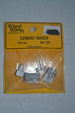 Wheel Works 96-133 Cement Mixer Metal Model Kits N scale