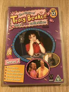 The Story Of Tracy Beaker BBC DVD Collection Disc 12 Series 3 Jacqueline Wilson