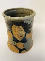Coffee Mug Cup Woman's Body Nose  3 Dimensional Brown Original 16 FL OZ