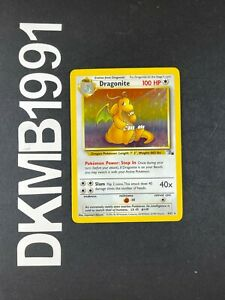Dragonite 5/62 HOLO Rare Pokemon Card Unlimited Base Set Fossil WOTC