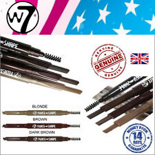 W7 Twist and Shape 2 in 1 Brow Pencil Angled Eyebrow Liner Blonde