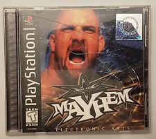 WCW Mayhem - Playstation - CIB Very Good