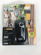Vivitar Digital Camcorder and Camera Model DVR 380 New In Sealed Box
