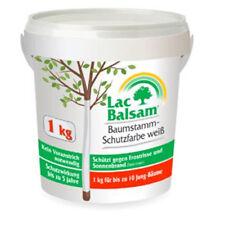 LacBalsam Baumstamm-Schutzfarbe weiß Lac Balsam 1kg Arbo Flex Stammschutzfarbe