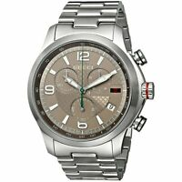 Gucci YA126248 G-Timeless 44MM Men's Chronograph Stainless Steel Watch