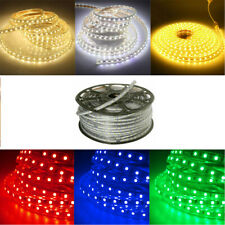 5050 SMD 60 LED Strip Light Waterproof Home Garden Party DIY Sign Decor 110/220V