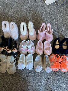 First Size Baby Girl Pram Shoes Bundle