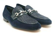Moreschi Men's Navy Driver Shoes Moccasins, Size 6 (7 US), 6.5 (7.5 US), 7(8 US)