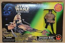 STAR WARS - SPEEDER BIKE with LUKE SKYWALKER - NEW 1996 - The Power of the Force