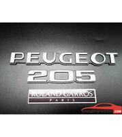 Lot de 3 monogrammes : Peugeot 205 Roland garros Paris