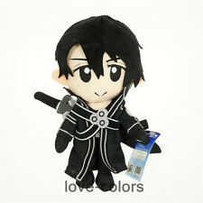 New S.A.O. Sword Art Online Kirito Plush Soft Stuffed Doll Toy Anime 30cm 11.8""
