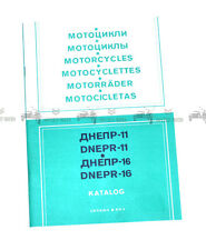 Dnepr 11/16 Catalogue spare parts Katalog Ersatzteile NEW