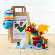 Sock Dragon Craft Kit - Sew your own Dragon!