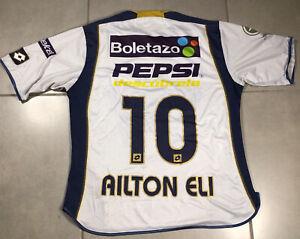 """Mens Lotto Sz S PUMAS UNAM SOCCER Ailton Eli JERSEY """"BICAMPEONATO"""" JERSEY 2004"""