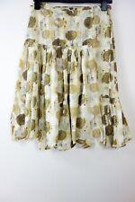 Rutzou silk Skirt size S
