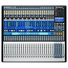 Presonus StudioLive 24.4.2AI 24-Channel FireWire Mixer Mixing Desk + Studio One