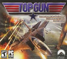 TOP GUN - F-22 Raptor & B-2 Spirit Stealth Bomber Flight Sim PC Game - SEALED