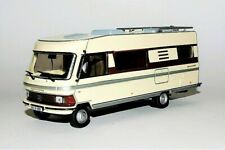 CAMPING CAR  MERCEDES  HYMERMOBIL  TYPE  650 - 1985 -  HACHETTE / IXO -  1/43