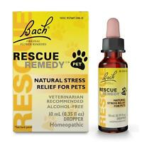 Bach Rescue Remedy Pet Drops 10ml / 20ml - BachFlower Essences for All Pets