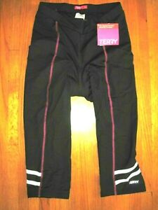 Terry Bicycles XL-16 Bella Prima Padded Seat Knicker Black/Pink NWT