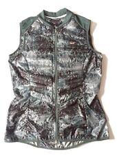 Size M Nike Aeroloft 800 Down Packable Women's Running Vest Camo NWT 546673 078