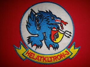 US Navy Helicopter Attack Squadron HELATKLTRON-3 Vietnam War Patch