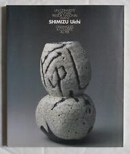 SHIMIZU UICHI UN CERAMISTE JAPONAIS TRESOR NATIONAL VIVANT CERAMIQUE A COUVERTE