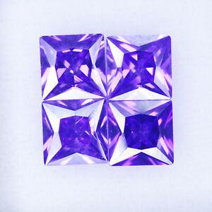 2 Ct Natural Zircon Princess Cut Certified Jewellery Loose Gemstone
