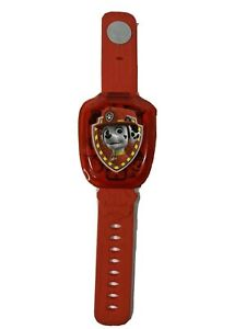VTech Paw Patrol Marshall Learning Watch Red Educational Fun Toy with Games