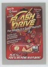 2017 Topps Wacky Packages 50th Anniversary #7 The USB Flash Drive /50 Card 0c4